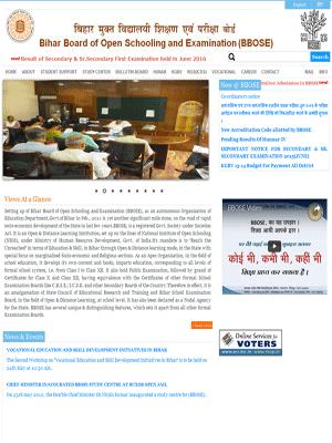 Bihar Board of Open Schooling